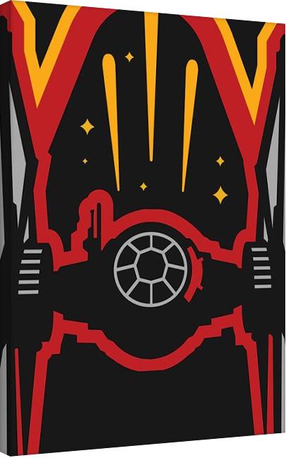 Obraz na plátně  Star Wars VII: Síla se probouzí - X-Wing Icon