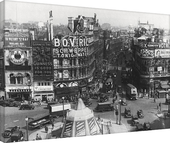 Obraz na plátně  Time Life - Piccadilly Circus, London 1942