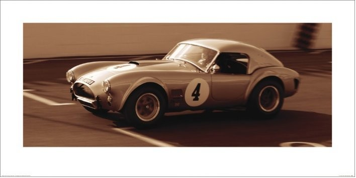 Obrazová reprodukce  AC Cobra 1962