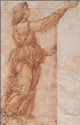Obrazová reprodukce  Anděl - Angelo annunciante