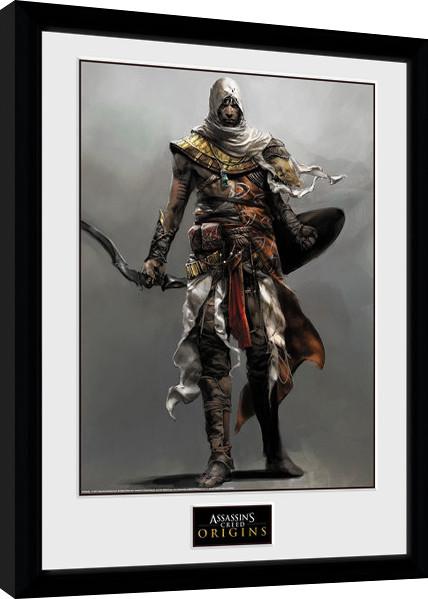 Assassins Creed: Origins - Solo Zarámovaný plagát