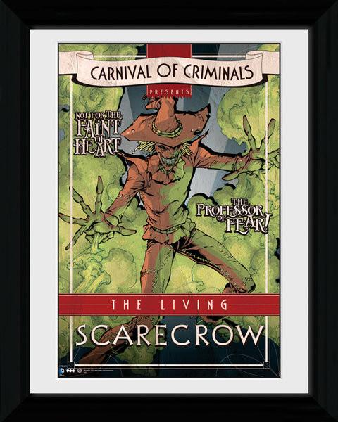 Batman Comic - Circus Scarecrow zarámovaný plakát