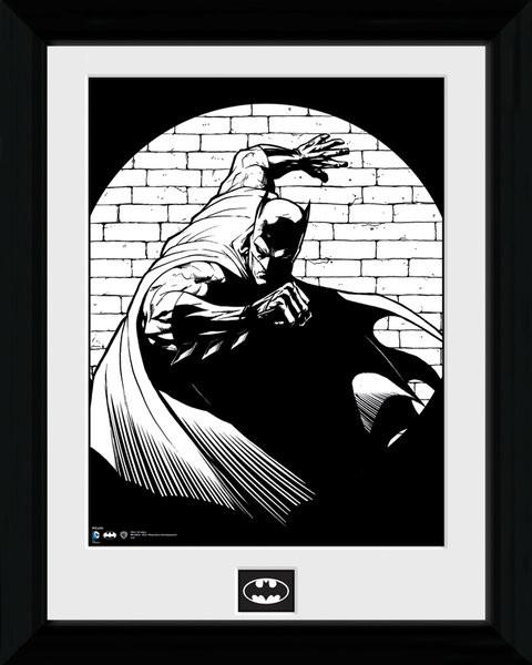 Batman Comic - Spotlight zarámovaný plakát
