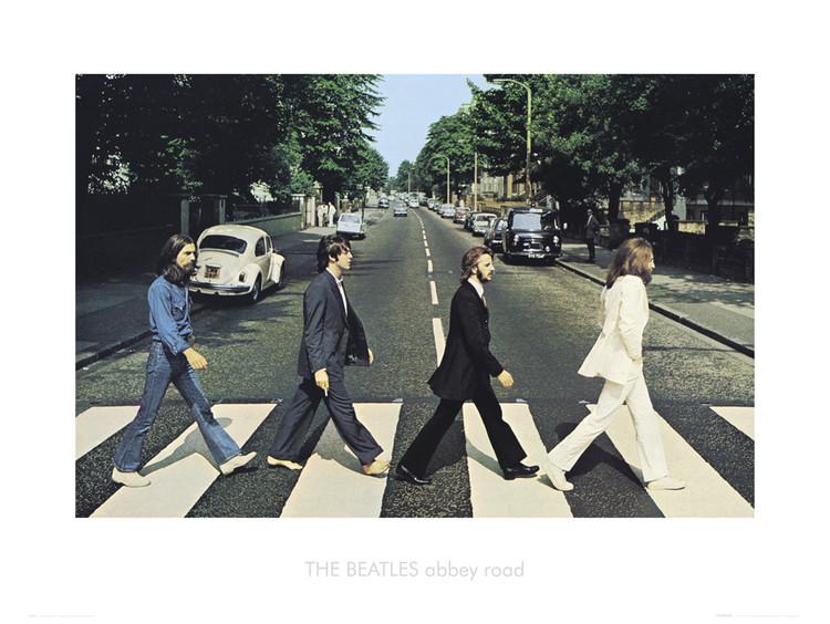 Obrazová reprodukce Beatles abbey road