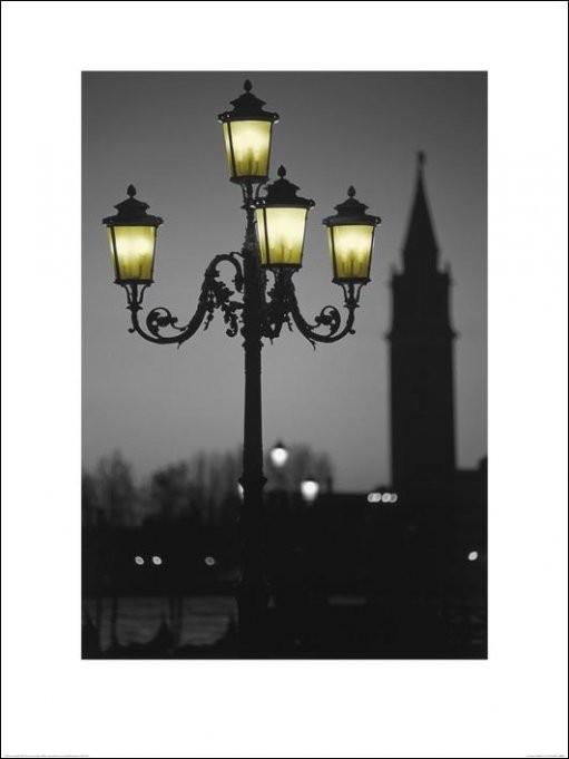 Obrazová reprodukce  Benátky - Lee Frost