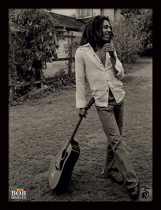 Bob Marley - Vintage zarámovaný plakát