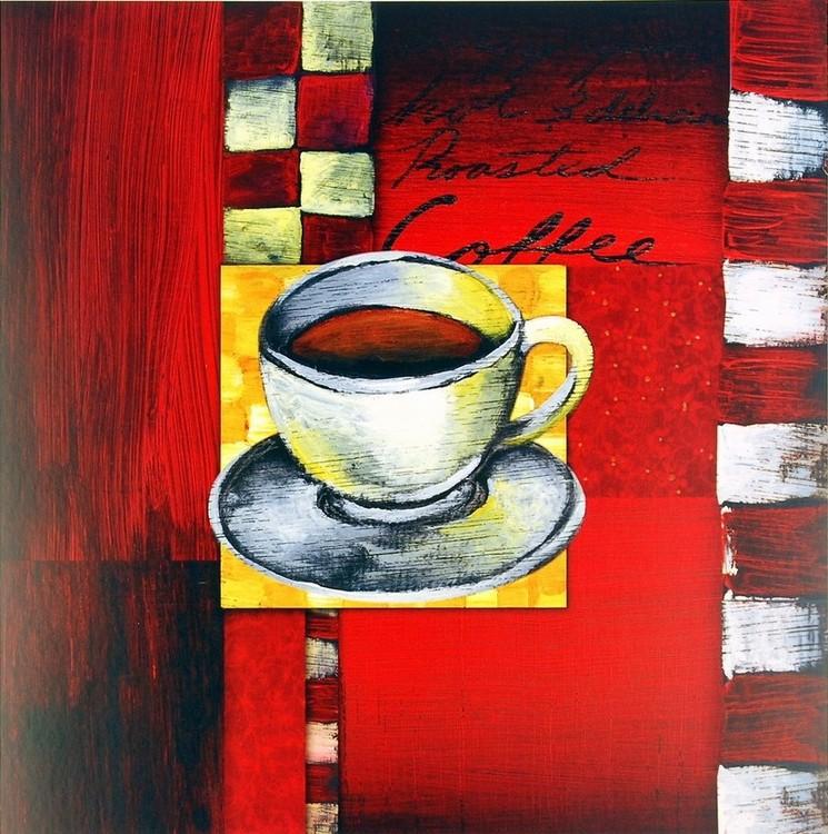 Obrazová reprodukce Brewing Coffee