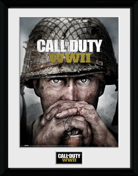 Call Of Duty: Stronghold - WWII Dogtags Zarámovaný plagát