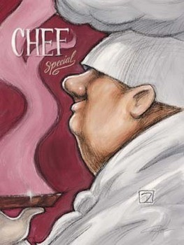 Obrazová reprodukce Chef Special