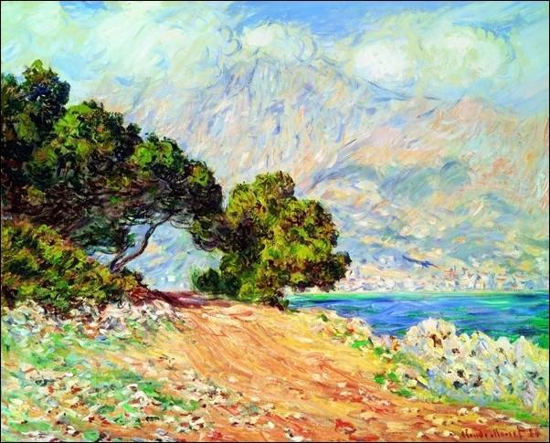 Obrazová reprodukce Claude Monet - Cap Martin , Near Menton