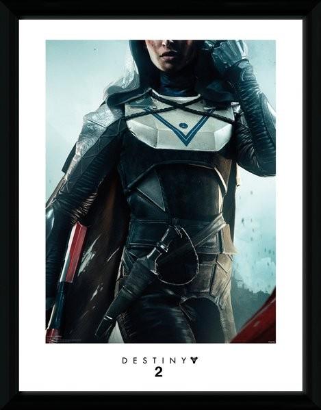 Destiny 2 - Hunter zarámovaný plakát