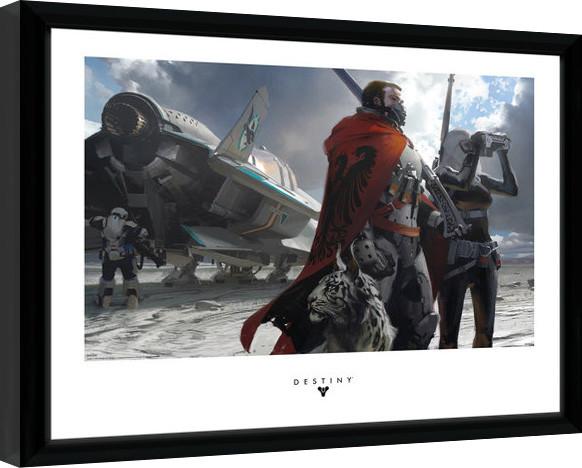Destiny - Guardians Zarámovaný plagát