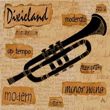 Dixieland Sound Obrazová reprodukcia