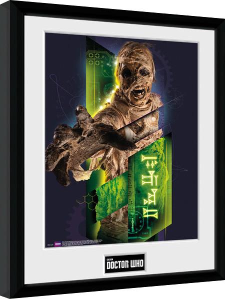 Doctor Who - Mummy zarámovaný plakát