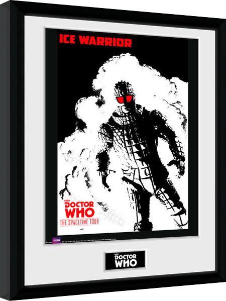 Doctor Who - Spacetime Tour Ice Warrior zarámovaný plakát