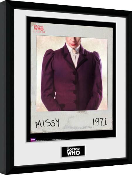 Doctor Who - Spacetime Tour Missy zarámovaný plakát