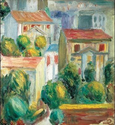 Obrazová reprodukce Dům v Cagnes
