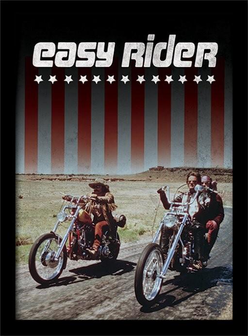 EASY RIDER - riders zarámovaný plakát