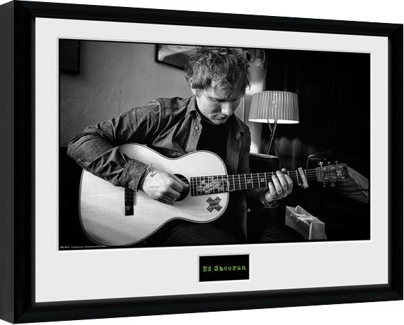Ed Sheeran - Chord zarámovaný plakát