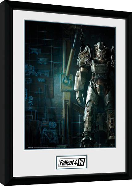 Fallout - VR Cover Zarámovaný plagát
