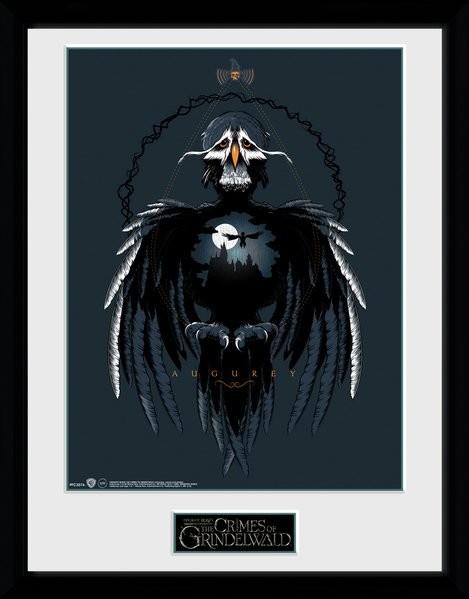 Fantastická zvířata: Grindelwaldovy zločiny - Augurey zarámovaný plakát