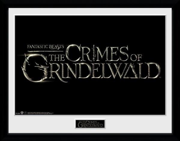 Fantastická zvířata: Grindelwaldovy zločiny - Logo zarámovaný plakát