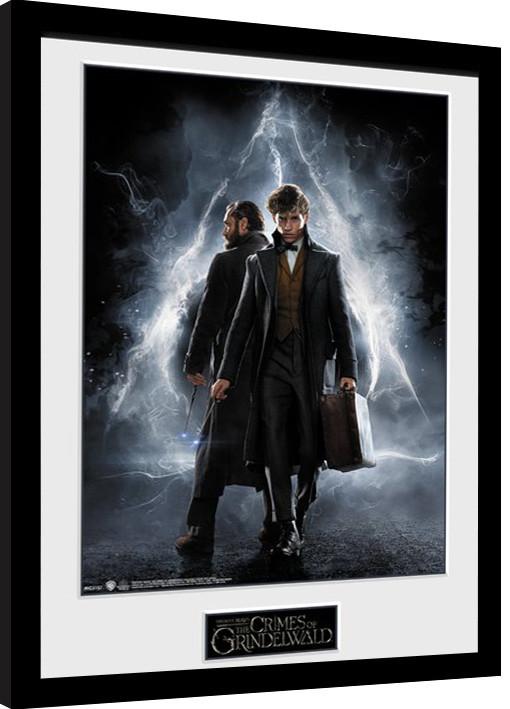 Fantastické zvery: Grindelwaldove zločiny - One Sheet Zarámovaný plagát