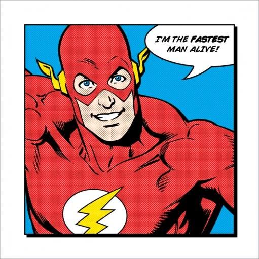 Flash - Fastest Man Alive Obrazová reprodukcia