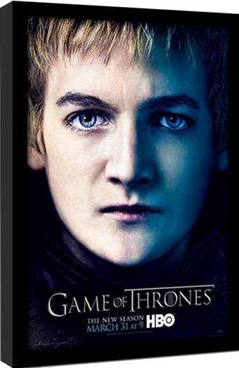 GAME OF THRONES 3 - joffery oprawiony plakat