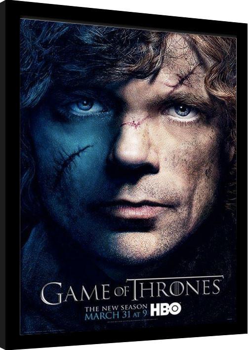 GAME OF THRONES 3 - tyrion zarámovaný plakát