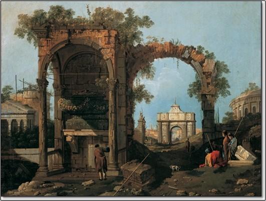Obrazová reprodukce  Gianola - Paesaggio II