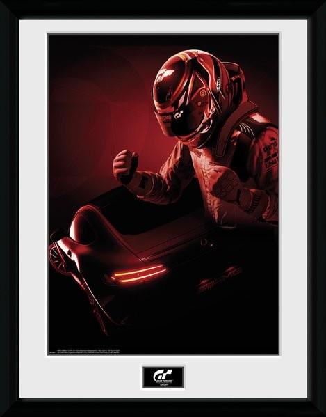 Gran Turismo - Key Art zarámovaný plakát