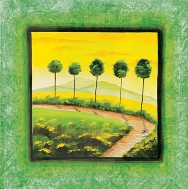 Green Path Obrazová reprodukcia