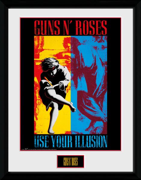 Guns N Roses - Illusion zarámovaný plakát