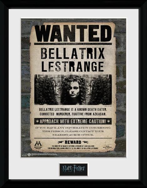Harry Potter - Bellatrix zarámovaný plakát