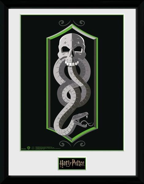 Harry Potter - Skull zarámovaný plakát