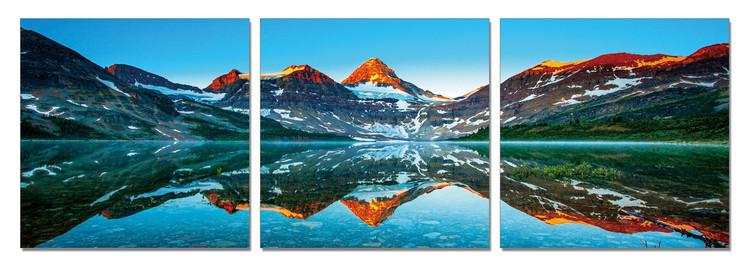 Obraz Hory - Západ slunce v horách