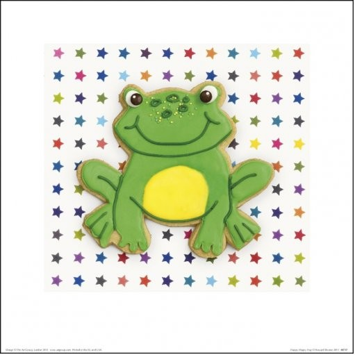 Obrazová reprodukce  Howard Shooter and Lauren Floodgate - Happy Hoppy Frog