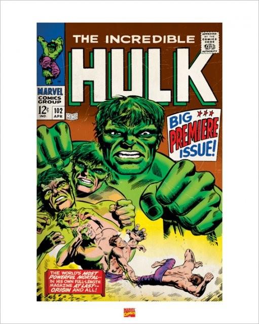 Obrazová reprodukce Hulk