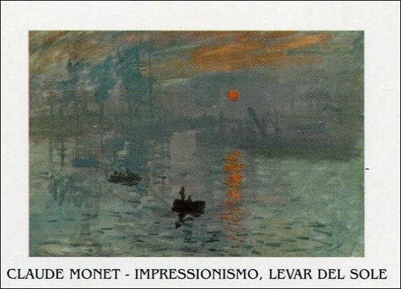 Obrazová reprodukce Imprese, východ slunce - Impression, soleil levant, 1872