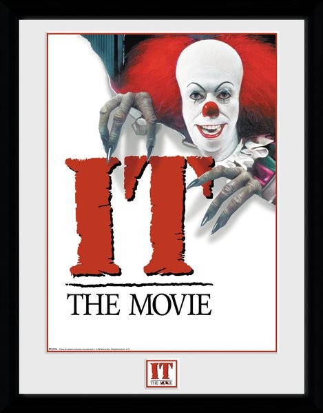 IT - 1990 Poster zarámovaný plakát