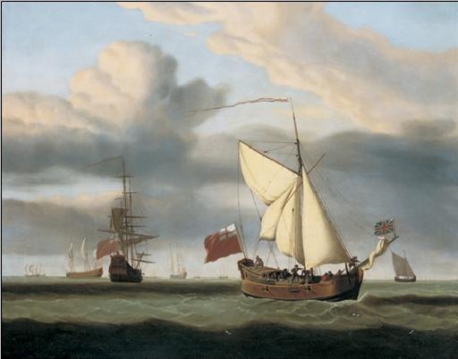 Obrazová reprodukce  Jachta Royal Escape