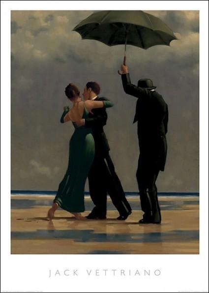 Jack Vettriano Dancer In Emerald Obraz Na Zeď Reprodukce Na Posterscz