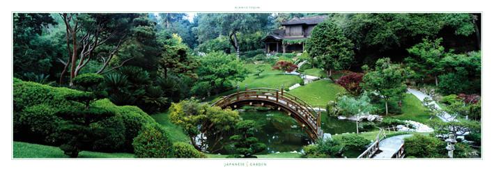 Japanese garden - The Huntingon Botanical garden, San Marino, Obrazová reprodukcia