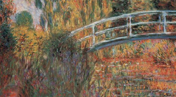Obrazová reprodukce  Japonský most