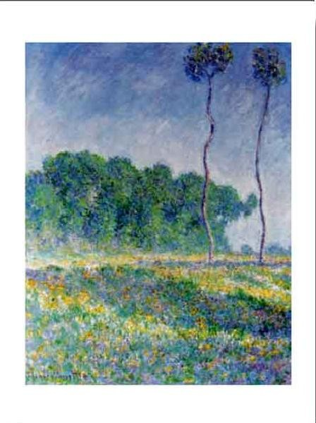 Obrazová reprodukce Jarní krajina u Giverny