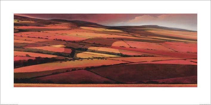 Jonathan Sanders - Afternoon Shadows Obrazová reprodukcia