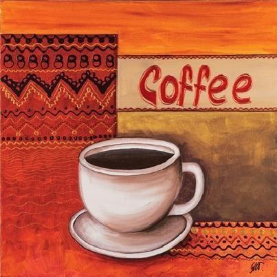Obrazová reprodukce Káva