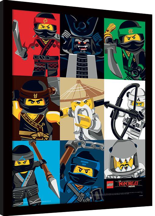 LEGO® Ninjago Movie - Bamboo rámovaný obraz na zeď   Posters cz