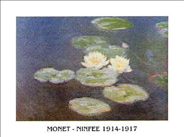 Obrazová reprodukce  Lekníny, 1914-1917